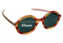 Sunglass Fix Replacement Lenses for Jean Lafont Dunes 810 - 45mm wide