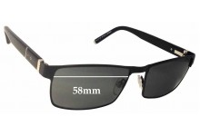 Jeff Banks / Specsavers JB Two I's Replacement Sunglass Lenses - 58mm Wide