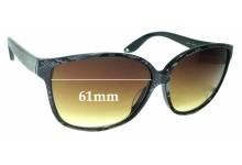 Sunglass Fix Replacement Lenses for Jimmy Choo Cass S - 61mm wide