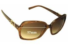 Jimmy Choo Lela/S Replacement Sunglass Lenses - 57mm wide