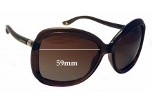 Jimmy Choo Margy/S Replacement Sunglass Lenses 59mm wide