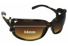Jimmy Choo Mini JJ/S Replacement Sunglass Lenses - 64mm wide