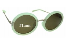 Sunglass Fix Replacement Lenses for Jins 1045 - 51mm wide