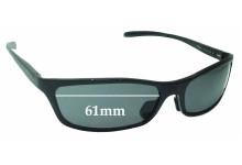 Sunglass Fix Replacement Lenses for Jonathan Paul JPS01 - 61mm Wide