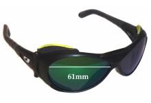 Julbo Explorer 326 5 14 Replacement Sunglass Lenses - 61mm wide