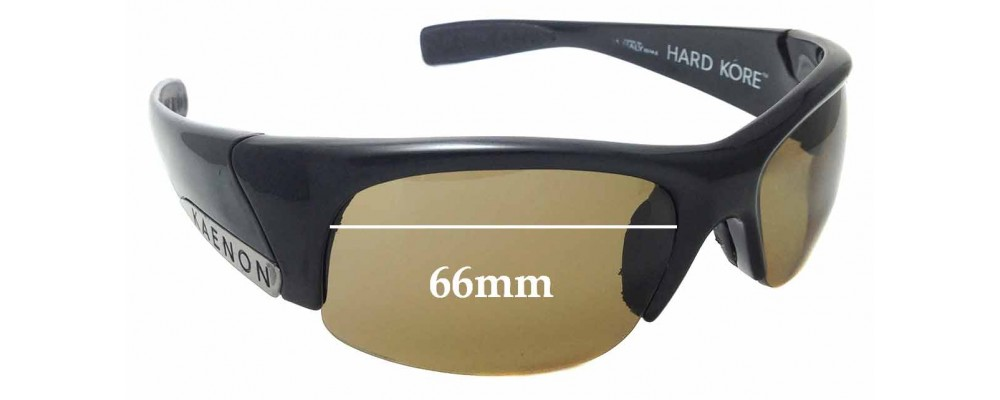 ec3be2b96f Sunglass Fix Replacement Lenses for Kaenon Hard Kore - 66mm wide ...