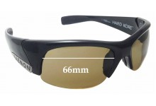 Sunglass Fix Replacement Lenses for Kaenon Hard Kore - 66mm wide
