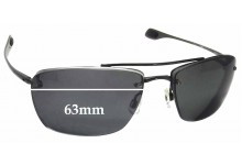 Keanon Spindle Replacement Sunglass Lenses - 63mm wide