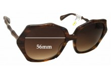 Kaleos Fossey Replacement Sunglass Lenses - 56mm Wide