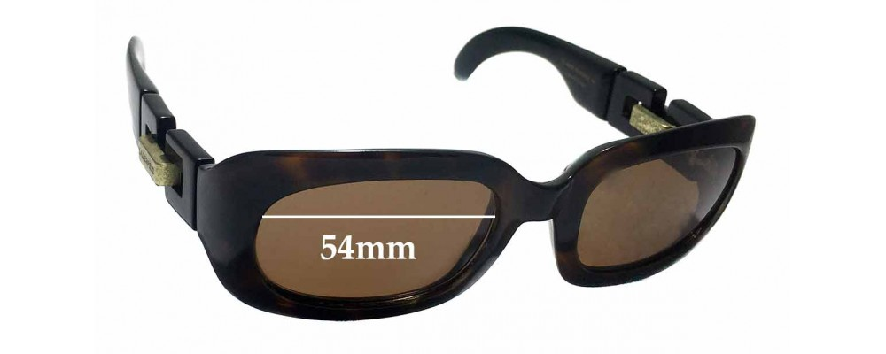 Karl Lagerfeld 4120 Replacement Sunglass Lenses - 54mm Wide