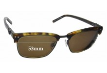 Karl Lagerfeld KL09 Replacement Sunglass Lenses - 53mm Wide