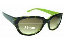 Sunglass Fix Replacement Lenses for Kate Spade Bri/S - 54mm wide