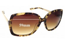 Sunglass Fix Replacement Lenses for Kate Spade Darryl/S - 59mm wide