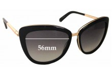 Kate Spade Kandi/S Replacement Sunglass Lenses - 56mm wide