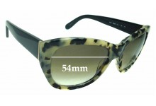 Sunglass Fix Replacement Lenses for Kate Spade Kia/S - 54mm wide