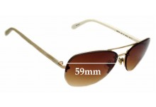 Sunglass Fix Replacement Lenses for Kate Spade Beryl/s - 59mm wide
