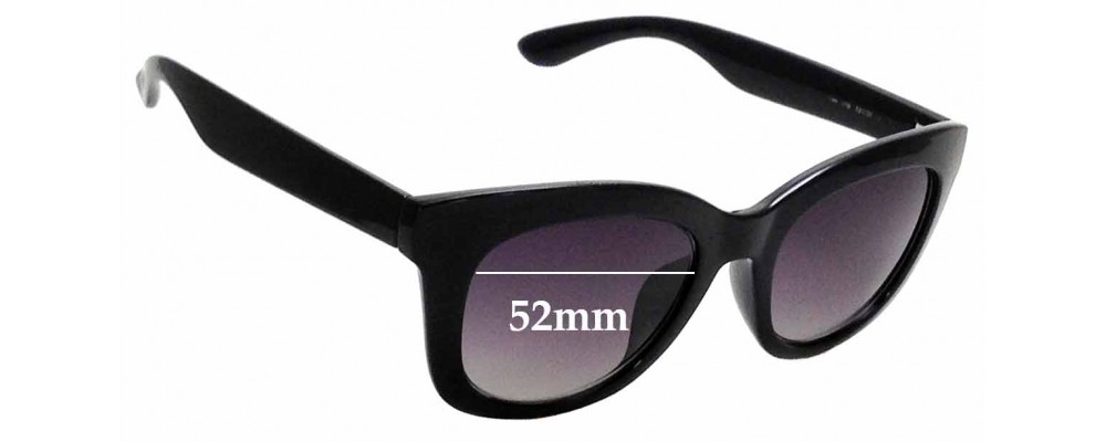 Sunglass Fix Replacement Lenses for Kenneth Cole Reaction 2768 - 52mm Wide