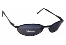 Killer Loop Coup K0770 Replacement Sunglass Lenses - 54mm wide