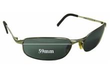 Killer Loop Revolt Replacement Sunglass Lenses - 59mm wide