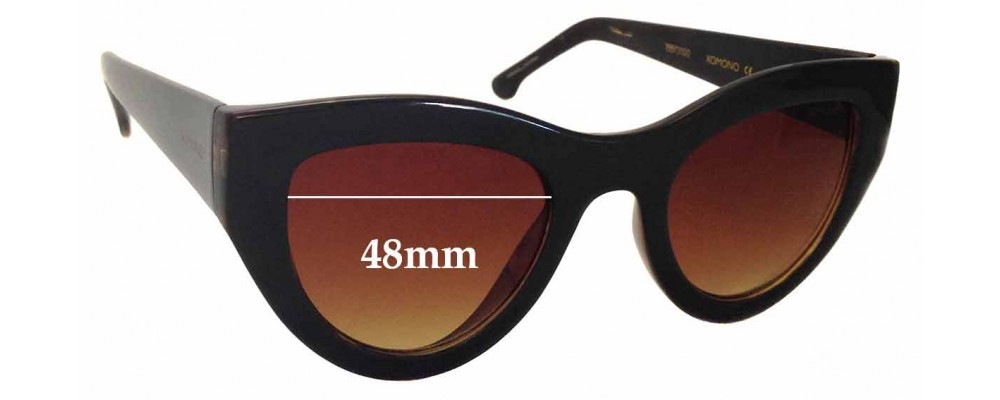 c0ae8a6cb63b Komono The Phoenix Replacement Lenses 60mm by The Sunglass Fix®