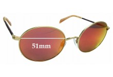 Sunglass Fix Replacement Lenses for Kylie Sun Rx 04 - 51mm wide