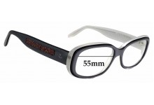 Sunglass Fix Replacement Lenses for Laura Biagiotti LB 85102 - 55mm Wide