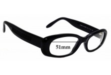 Sunglass Fix Replacement Lenses for Laura Biagiotti LB 85103 - 51mm Wide