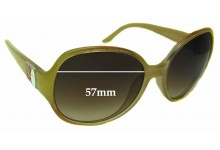 Laura Biagiotti LBK013 Replacement Sunglass Lenses - 57mm Wide