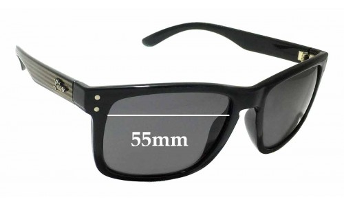 LIIVE Cheap Thrill Replacement Sunglass Lenses - 55mm wide