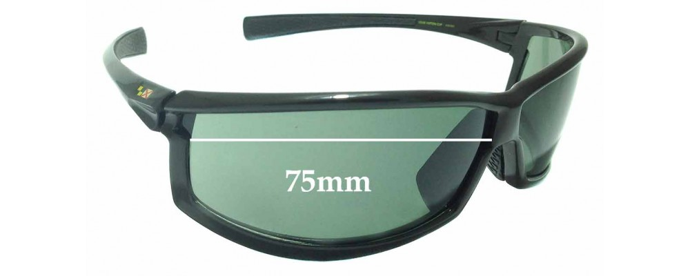 585330c5357 Sunglass Fix Replacement Lenses for Louis Vuitton Cup M80659- 75mm wide