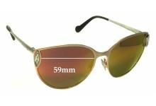 Louis Vuitton Dali Z0824U Replacement Sunglass Lenses - 59mm wide