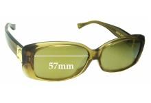 Louis Vuitton Z0003E Replacement Sunglass Lenses - 57mm wide
