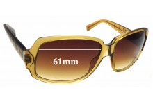 Sunglass Fix Replacement Lenses for Louis Vuitton Z0025W - 61mm wide