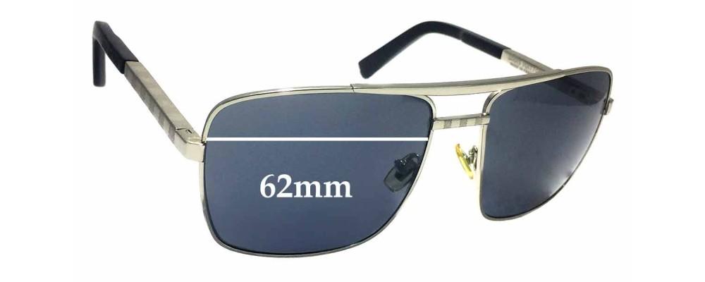 7d3ff5913d Louis Vuitton Z0260U Replacement Sunglass Lenses - 62mm wide
