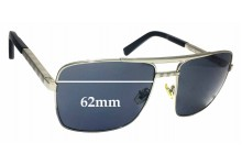 Louis Vuitton Z0260U Replacement Sunglass Lenses - 62mm wide