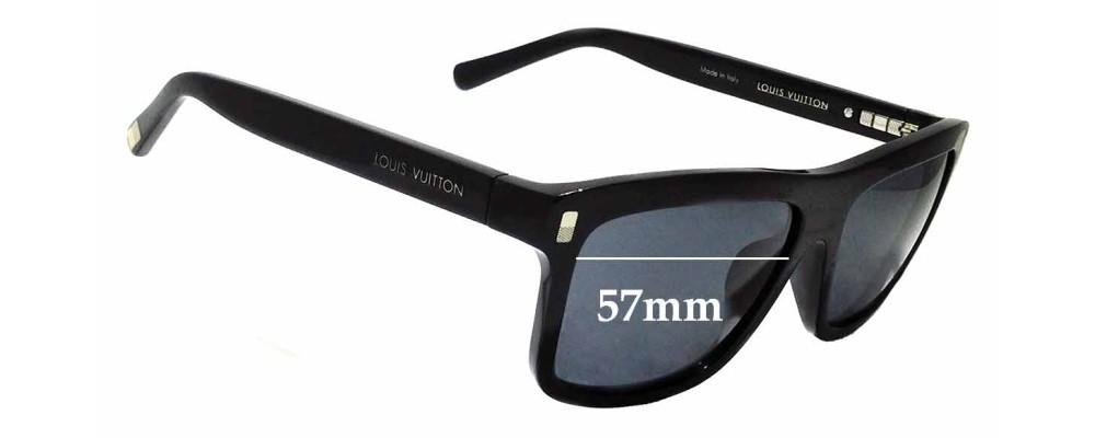 47ac2ccf45 Sunglass Fix Replacement Lenses for Louis Vuitton Z0698E - 57mm wide ...