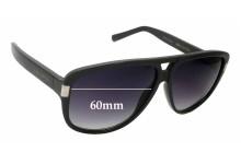 Louis Vuitton Z0716W Replacement Sunglass Lenses - 60mm wide