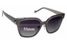 Sunglass Fix Replacement Lenses for Louis Vuitton Z0813U - 53mm wide