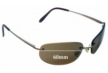 Mako 9461 Replacement Sunglass Lenses - 60mm Wide
