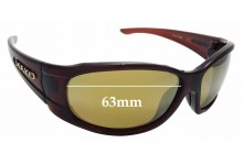 Sunglass Fix Replacement Lenses for Mako 9561 - 63mm wide