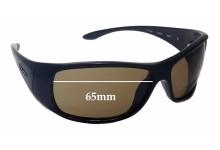 Mako Flipper 9553 Replacement Sunglass Lenses - 65mm Wide