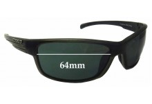 Mako Shadow 9585 Replacement Sunglass Lenses - 64mm Wide