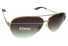 Sunglass Fix Replacement Lenses for MARC BY MARC JACOBS MJ308/S 62mm Wide