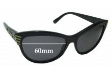 MARC BY MARC JACOBS MMJ 196/S Replacement Sunglass Lenses - 60mm Wide
