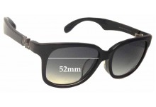 MARC BY MARC JACOBS MMJ 283/F/S Replacement Sunglass Lenses - 52mm Wide