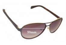 MARC BY MARC JACOBS MMJ 454/S Replacement Sunglass Lenses - 59mm Wide