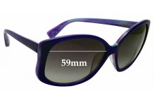 Sunglass Fix Replacement Lenses for MARC BY MARC JACOBS MMJ147/F/S - 59mm Wide