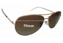Sunglass Fix Replacement Lenses for MARC BY MARC JACOBS 59/S 59mm Wide