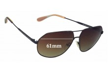 MARC BY MARC JACOBS MMJ 260/S Replacement Sunglass Lenses - 61mm Wide