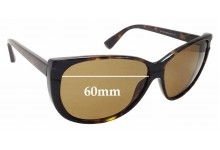 Sunglass Fix Replacement Lenses for MARC BY MARC JACOBS MMJ 128/S - 60mm Wide